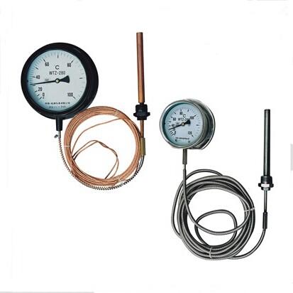 WTZ-280,WTQ-280型压力式温度计
