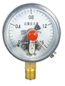 磁簧式电接点压力表YXCH-100