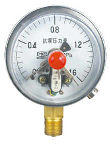 YXCG-100磁固电接点压力表