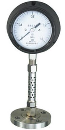 YQSF-150不锈钢防腐型安全压力表