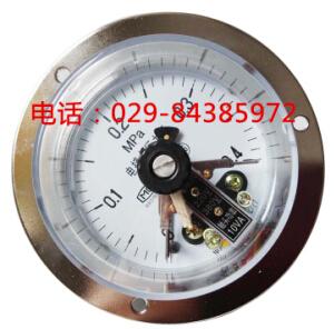 YX-100ZT轴向带边电接点压力表