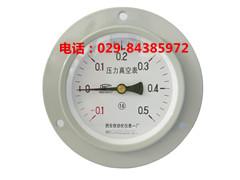 YZ-100ZT轴向带边真空压力表