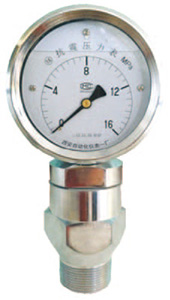 抗震泥浆压力表 YK-100