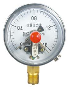 YXCJK150抗震磁继电接点压力表
