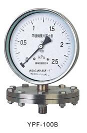 YPF-100B不锈钢膜片压力表