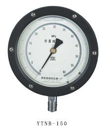 YTNB-150抗震精密压力表