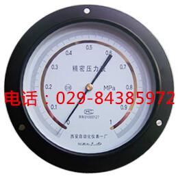 0.25级轴向带边精密压力表YB-150ZT