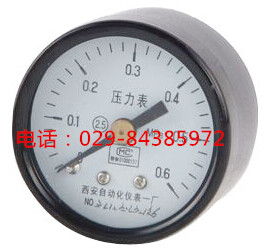 Y-40Z轴向弹簧管压力表