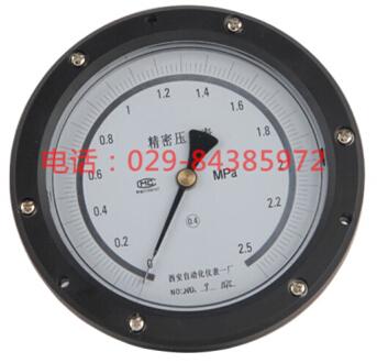 YB-150ZT轴向精密压力表