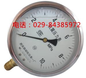 西安自动化仪表一厂YTN-150耐震压力表